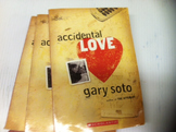 """Accidental Love"" books, by Gary Soto - Literature Circle Set"