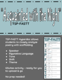 """""""Acquainted with the Night"""" TSP-FASTT Close Analysis Hyperdoc"""
