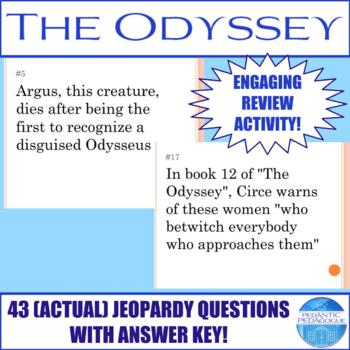 (Actual) Jeopardy Review of the Odyssey