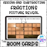 Add and Subtract Fractions Boom Cards- Digital Task Cards