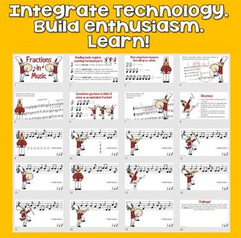 ♫ Adding Fractions & Equivalent Fractions with Music ♫- GOOGLE CLASSROOM