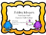 **Adding Integers Scavenger Hunt w/ Student Recording Shee