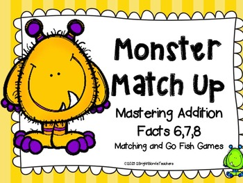 {{Addition Monster Match Up - Nines and Tens}}