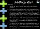"""Addition War!"" 2-DIGIT + 1-DIGIT REVIEW GAME"