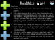 """Addition War!"" 2-DIGIT + 1-DIGIT REVIEW GAME"