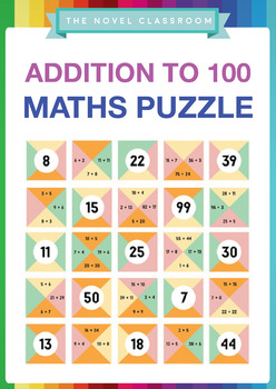 Addition to 100 Math Puzzle