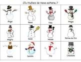 ¿Adivina Quién?  Los Muñecos de Nieve