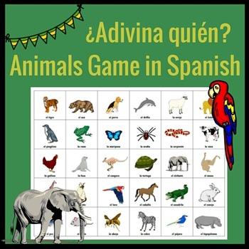 ¿Adivina quién? Animals Game
