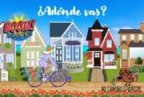 ¿Adónde Vas? Spanish Boom Cards (Places Vocabulary) DISTAN