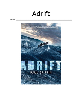 """""""Adrift"""" : Chapter-by-Chapter Comprehension Questions"""