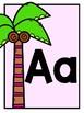 {Affiches de l'alphabet flamant rose} Pink flamingo alphabet posters
