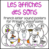 {Affiches des sons} French sound posters for primary classrooms