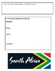 (Africa) Facts about South Africa for Kids-  Reading Research Guide