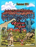 """African Safari"" Art & Nature-Science Unit"