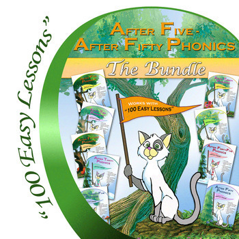 Glimmercat's After Five-After Fifty Phonics Bundle Lessons