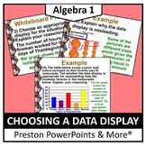 (Alg 1) Choosing a Data Display in a PowerPoint Presentation