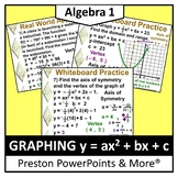(Alg 1) Graphing y = ax2 + bx + c in a PowerPoint Presentation