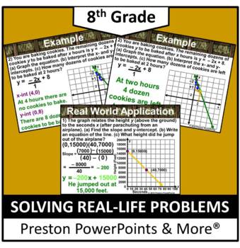 (Alg 1) Solving Real-Life Linear Equations in a PowerPoint
