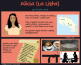"""Alicia"" by Cécile Lainé - graphic novel package"