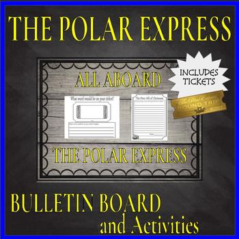 """All Aboard The Polar Express"" Bulletin Board Activities and Tickets"