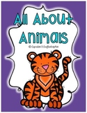 {{All About ANIMALS!}} Sorting Cards, Activities, Worksheets, and More!