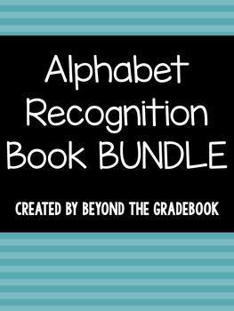 """All About..."" Alphabet Recognition Book BUNDLE"