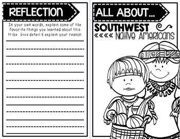 """""""All About"""" Book:  Southwest Native Americans"""
