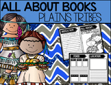"""""""All About"""" Books:  Plains Tribe"""