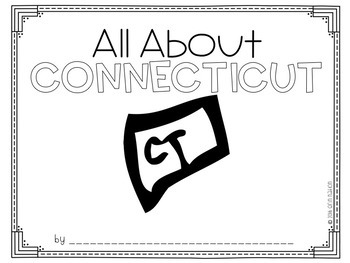 """All About Connecticut"" a cut-a-sentence book"