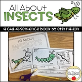 """""""All About Insects"""" a cut-a-sentence book"""