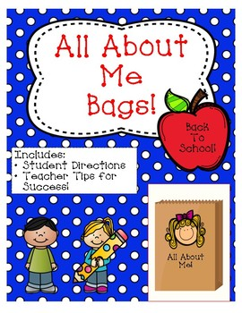 """""""All About Me"""" Bags"""