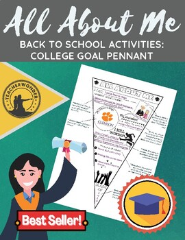 """""""All About Me"""" College Goal Pennant"""