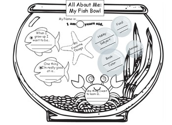 """""""All About Me"""" Fishbowl"""