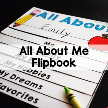 All About Me Get to Know You Flipbook
