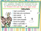 """""""All About Me"""" Glyph Powerpoint-Peer Editing"""