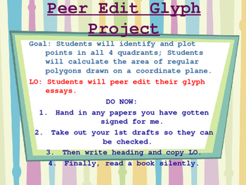 """All About Me"" Glyph Powerpoint-Peer Editing"