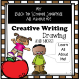Back To School: Writing Journal, Decodable Puzzle, Scavenger Hunt, Word Search