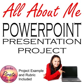 """All About Me"" PowerPoint Project"