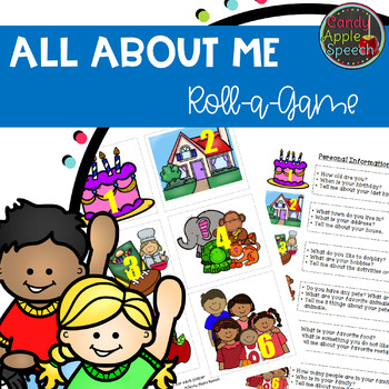 """All About Me"" Roll a Game"