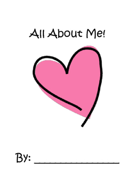 """All About Me"" workbook"