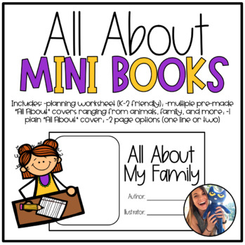 """""""All About"""" Mini Books & Templates"""