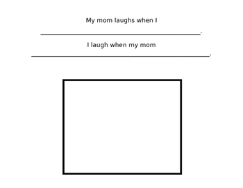 """All About My Mommy"" Mother's Day Book"