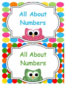 """""""All About Numbers"""" Poster Pack"""