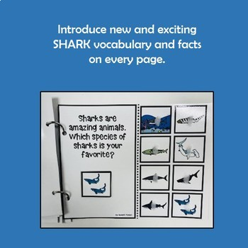 """""""All About Sharks"""" An AAC Adapted Interactive Science Book"""