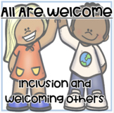 """""""All Are Welcome"""" A beginning of the year lesson on tolera"""