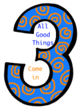 'All Good Things Come in 3' Song