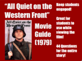 """""""All Quiet on the Western Front"""" Movie Guide"""