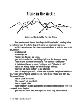 """""""Alone in the Arctic"""": Spy/Thriller Short Story Series"""