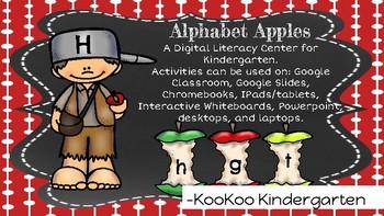 """Alphabet Apples""-A Digital Literacy Center for Google Classroom"