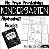 Alphabet Letter Books-no prep printable